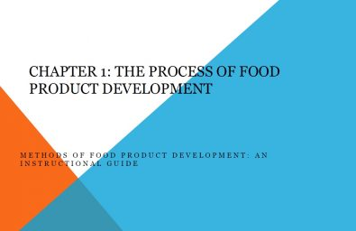 Business plan food product